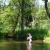 Stefan in Malše river